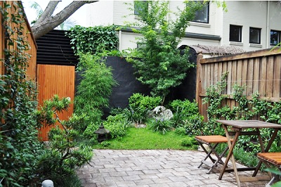 Courtyard garden ideas landscaping courtyard garden design for Japanese garden design ideas uk