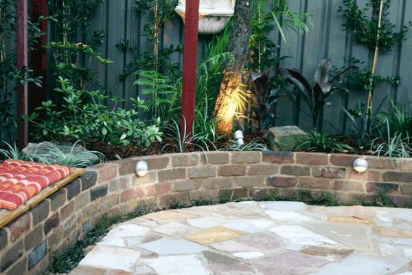 English Courtyard Garden Landscape Design Style