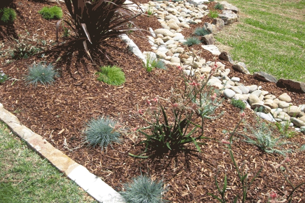 Landscaping work landscape gardener designs plans and for Native garden designs