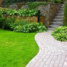 low maintenance path