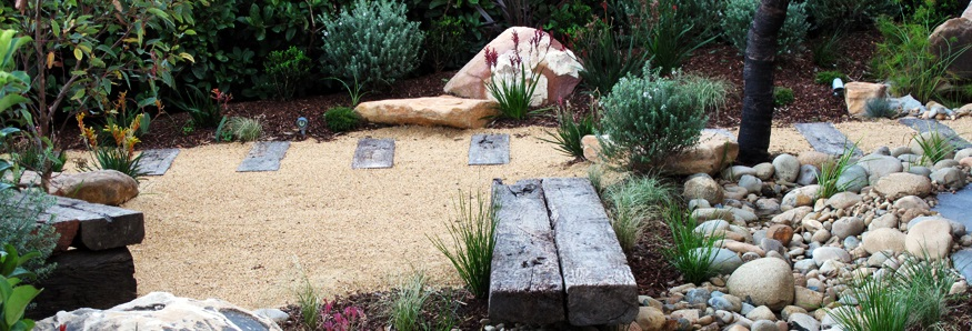 Landscape designs online garden plans landscape garden for Australian native garden design ideas