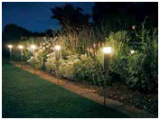 low voltage garden lighting