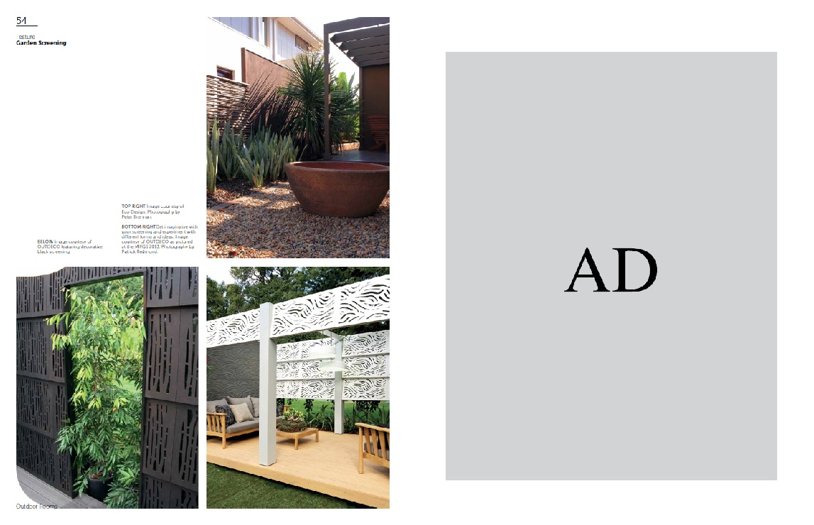 Garden Screens Outdoor Rooms Magazine