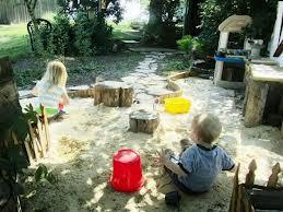 kids sandpit