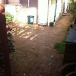 garden before makeover
